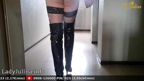 Boots, Trained, High boots, Boot, Fishnet, Walking