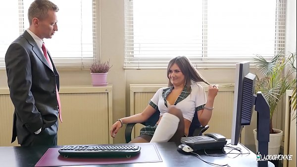 Office, French, Ass fuck, In office